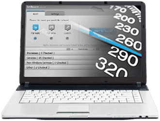 Performance optimization, PC and laptop speed, fragmented hard drive, slow laptop hard drive